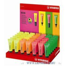 SZÖVEGKIEMELŐ STABILO NEON  2-5mm tubus alakú (pink, TST7256)