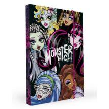 FÜZETBOX A4 P+P Monster High 3cm
