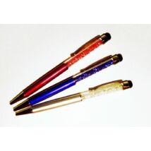 GTOLL színes kristállyal touch pen átlátszó dobozban
