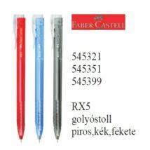 GTOLL Faber-Castell RX5 átlátszó testű