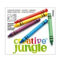 ZSIRKRÉTA 12 SAKO Creatíve Jungle ZY01112  ajándék kifestővel