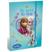 GUMIS DOSSZIÉ A5 LIZZY15 Frozen Elsa/Hero