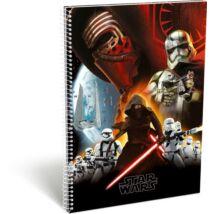 FÜZET spirál A4 LIZZY kockás 70l Disney  Star Wars