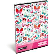 FÜZET A4 LIZZY kockás Licensz15  Miss Chick ,Lollipop