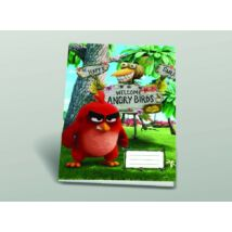 FÜZET A4 SB Angry Birds kockás 87-32