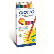 SZÍNESCERUZA 24 FILA Giotto Elios Triangular 275900