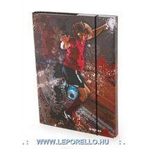 FÜZETBOX A4 DONAU Football/Freestyle**