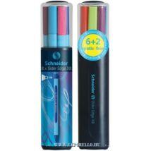 GTOLL SCHNEIDER Slider Edge XB 0,7mm 8/klt vegyes szín 6+2ajándék**