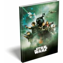 EMLÉK keményfed.notesz A5 LIZZY Disney Emoji, Star Wars, the Incredibles, (Star Wars Rouge, 17500003/18)