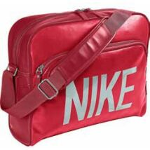 Oldaltáska Nike16 BA4358-653 piros-ezüst**