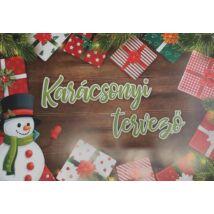 ASZTALI könyökalátét papír 24l pd karácsonyi tervező 500*350mm