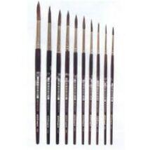 Ecset Pax S 425/ 12  póniszőr  barna nyél
