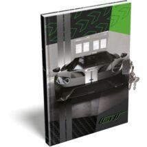 EMLÉKKÖNYV A5 lakatos LIZZY FORD (GT Green, 20734002)