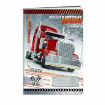 FÜZET A4 Truck ARGUS vonalas 40l 1582-1506..,