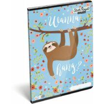 FÜZET A4 LIZZY kockás Lollipop (Sloth Royal, 19643038)