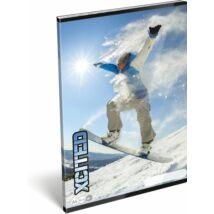 FÜZET A4 LIZZY sima X-Cited (Snowboard, 20745308)