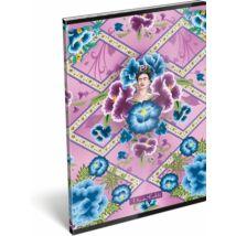 FÜZET A4 LIZZY vonalas Frida Kahlo (Púrpura, 20805702)
