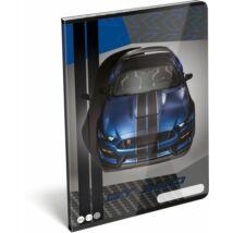 FÜZET A4 LIZZY20 kockás FORD (Mustang Blue, 20741803)