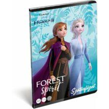 FÜZET A5 LIZZY szótár 31-32 Frozen2 Believe
