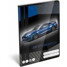 FÜZET A5  LIZZY vonalas 2.oszt. 16-32 FORD20 (Mustang Blue, 20750403)