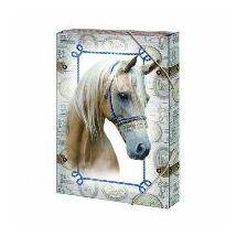 FÜZETBOX A4 ARGUS Fehér ló