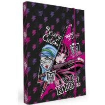 FÜZETBOX A4 Jumbo P+P Monster High