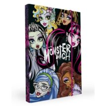 FÜZETBOX A4 P+P Monster High 3cm