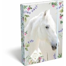 FÜZETBOX A5 LIZZY19 Wild Beauty (White, 19663301)