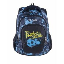 """Hátitáska Pulse """"Teens Blue Football"""" kék-fekete"""