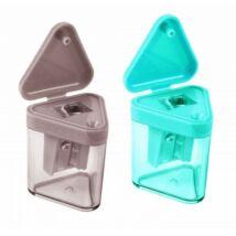 HEGYEZŐ 1lyukú  Economix színes háromszög E40632