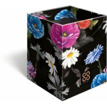 ÍRÓSZERTARTÓ négyzetalakú Lizzy Cornell (Flower19, 19631447)