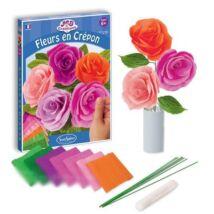 KREPP VIRÁGKÉSZÍTŐ SZETT Rózsa/Mezei virágok