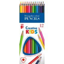 SZÍNESCERUZA 12 ICO Trió Creatív Kids