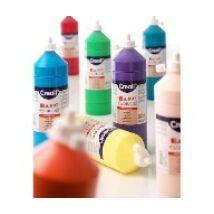 TEMPERA üveges 500ml Creall Basic alap/pasztell szinek, -Pasztell sárga-CL30092