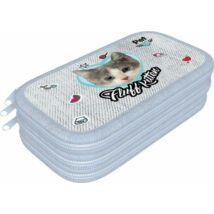 TOLLTARTÓ 3 emeletes LIZZY textil Pet (Fluff Kitten, 19622113)