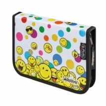 TOLLTARTÓ klapnis HERLITZ SMILEY8 üres (SmileyWorld Rainbow Faces, 50015399)