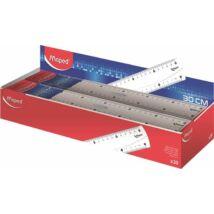 VONALZÓ egyenes 30cm MAPED Essentials fogós müa.