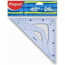 "VONALZÓ háromszög 26/45 MAPED ""Graphic"""