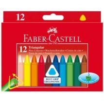 ZSÍRKRÉTA 12 viaszkréta FABER Castell háromszögű 120010