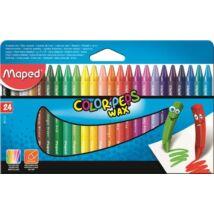 "ZSIRKRÉTA 24 MAPED ""Color Peps"" Wax"