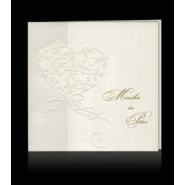 Esküvői meghívó C 0307