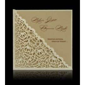 Esküvői meghívó D 0709