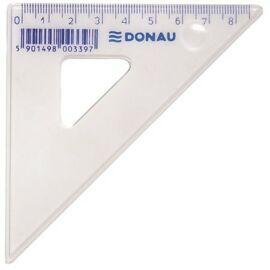 VONALZÓ háromszög 45'/16cm ROTRING Centro Geom. átlátszó fogóval