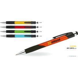 GTOLL MP Műa.  Duera metál matt színes tolltest, fekete ívelt gumifogó