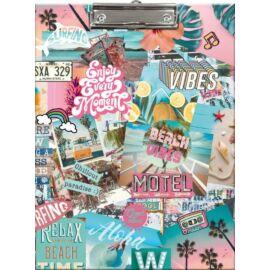FELIRÓTÁBLA A4  LIZZY21 Good Vibes Beach