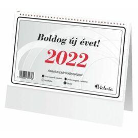 *27371 NAPTÁR asztali  23 Victoria-2022
