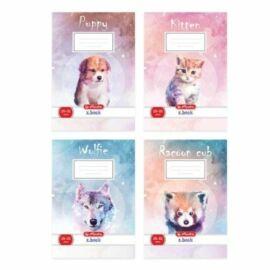 FÜZET A5 HERLITZ 2.oszt. 16-32 Animals