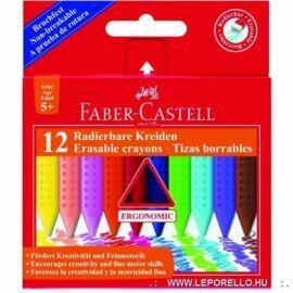 *33908 ZSÍRKRÉTA 12 FABER Castell JUMBO GRIP törölhető 122540/243012