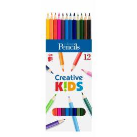 SZÍNESCERUZA 12 KOH  Creatív Kids hatszögletű
