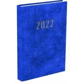 *38611 HATÁRIDŐNAPLÓ 2022 A5 napi T-Calendar Baladek Casina Balacron középkék